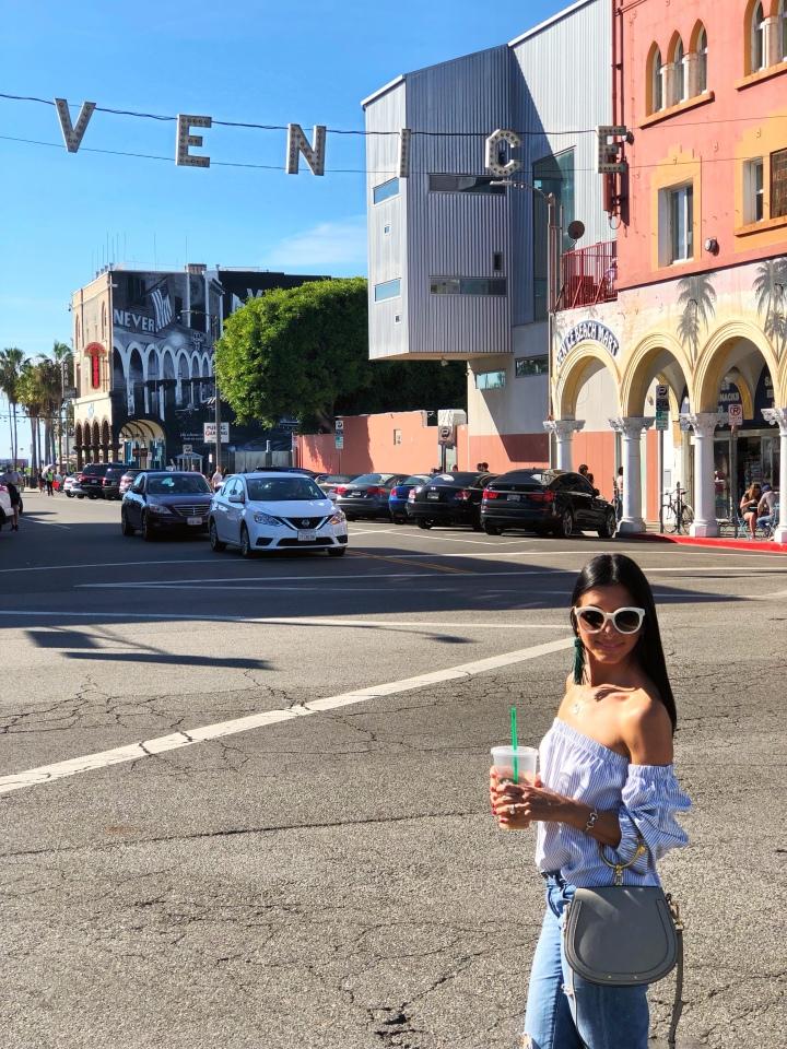 A Day at Venice Beach    Un día en VeniceBeach